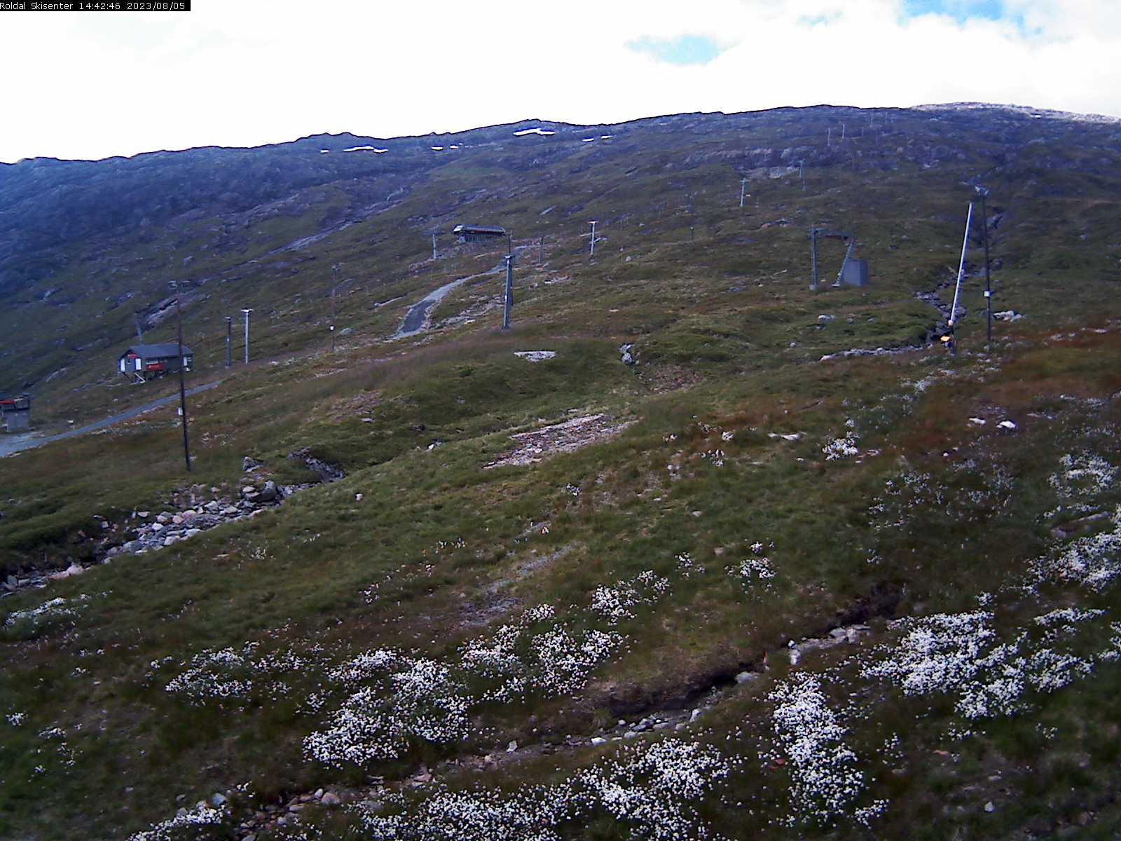Webkamera Røldal Skisenter øvre varmestue
