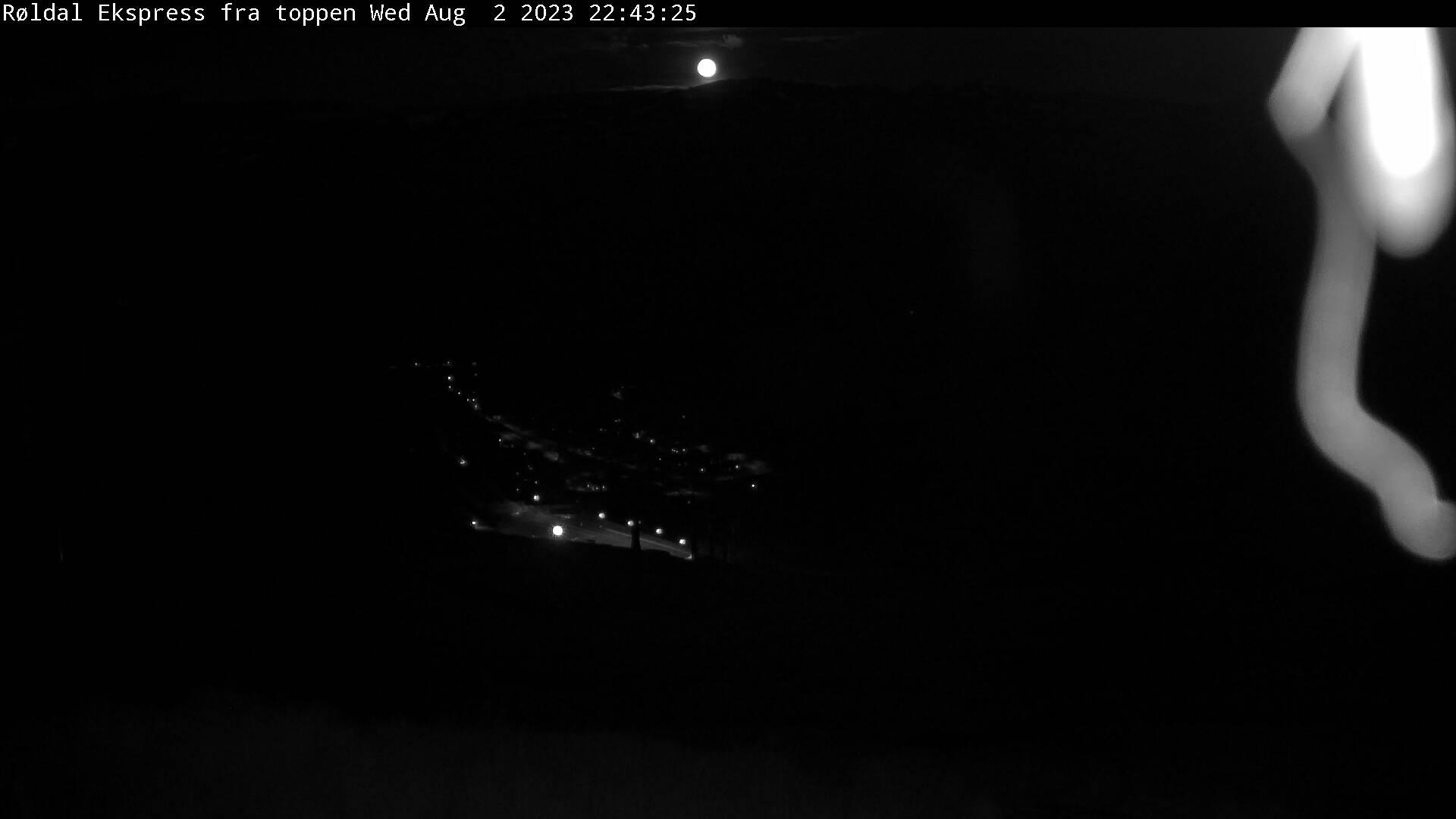 Webcam Røldal skisenter, Odda, Hordaland, Norwegen