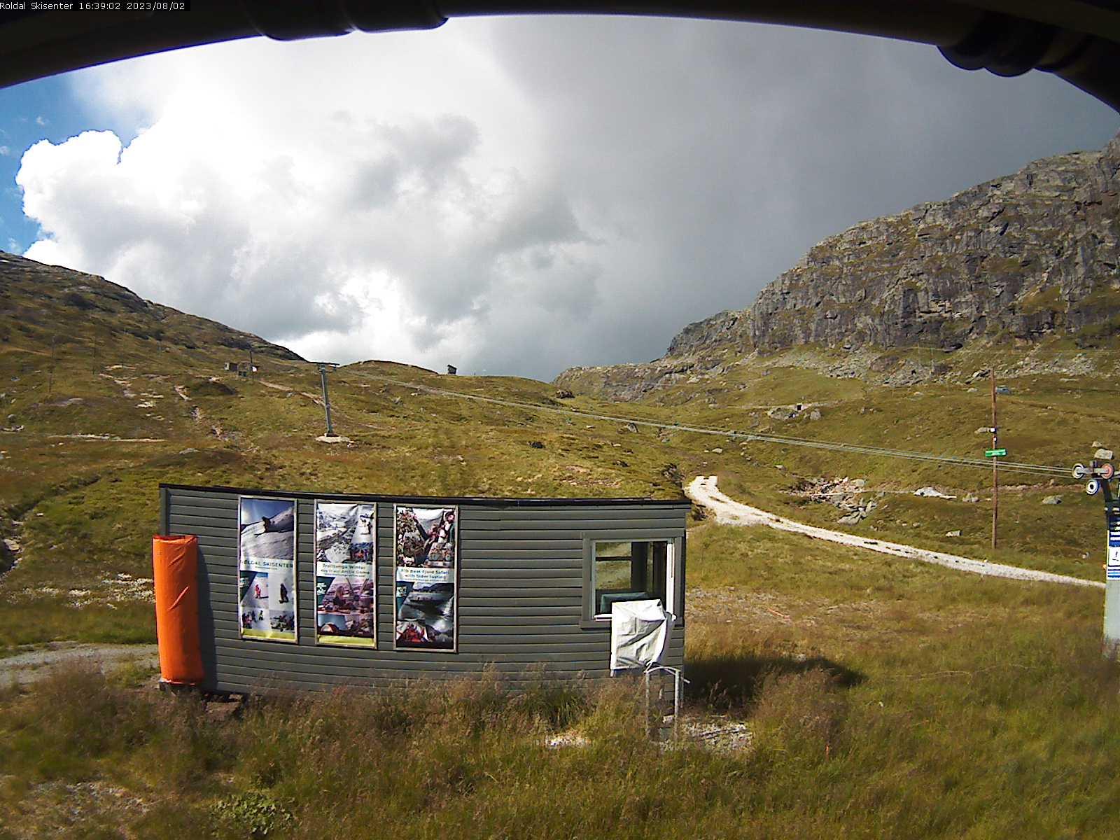 Røldal - ski slope; beginners' lift